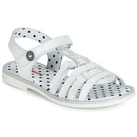 Παπούτσια Κορίτσι Σανδάλια / Πέδιλα Catimini MUNDA Άσπρο