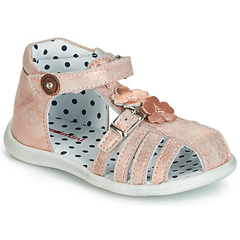 Παπούτσια Κορίτσι Σανδάλια / Πέδιλα Catimini VANUA Ροζ / Χρυσο