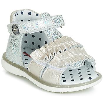 Παπούτσια Κορίτσι Σανδάλια / Πέδιλα Catimini BIRA Silver