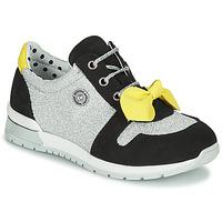 Παπούτσια Κορίτσι Χαμηλά Sneakers Catimini BANJO Silver / Black