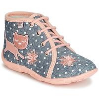 Παπούτσια Κορίτσι Παντόφλες GBB MERMIDA Grey / Ροζ