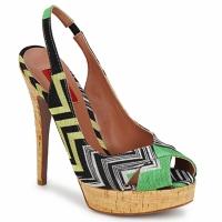 Παπούτσια Γυναίκα Σανδάλια / Πέδιλα Missoni RM71 Green