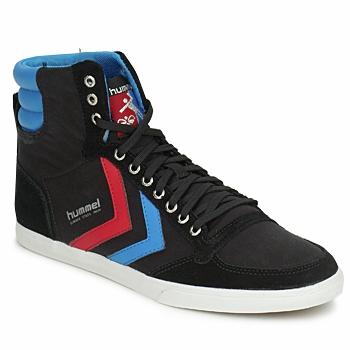Παπούτσια Άνδρας Ψηλά Sneakers Hummel TEN STAR HIGH CANVAS Black / μπλέ / Red