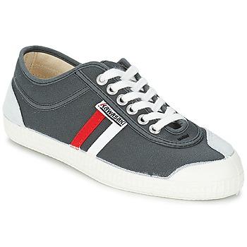Παπούτσια Άνδρας Χαμηλά Sneakers Kawasaki RETRO CORE Grey / Red / άσπρο / Rayé