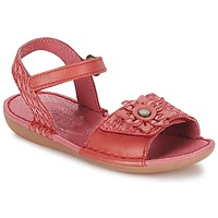Παπούτσια Κορίτσι Σανδάλια / Πέδιλα Kickers EVANA Red / Corail