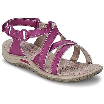 Παπούτσια Κορίτσι Σπορ σανδάλια Merrell JAZMIN KIDS Violet