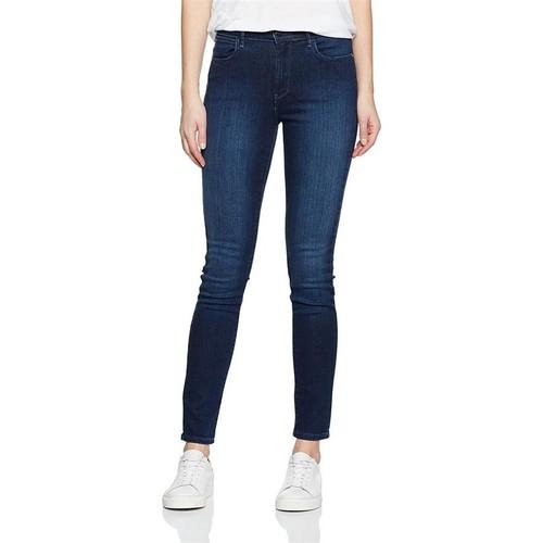 Υφασμάτινα Γυναίκα Skinny jeans Wrangler High Rise Skinny Subtle Blue W27HX786N navy