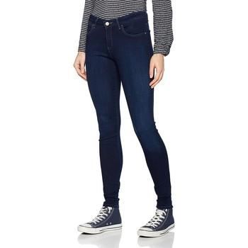 Υφασμάτινα Γυναίκα Skinny jeans Wrangler Super Skinny True Beauty W29JBV94Z navy