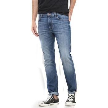 Υφασμάτινα Γυναίκα Skinny Τζιν  Lee Rider L701ACDK blue