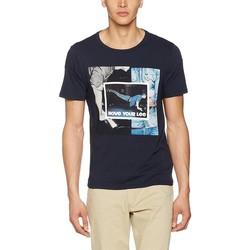 Υφασμάτινα Άνδρας T-shirt με κοντά μανίκια Producent Niezdefiniowany Lee® Photo Tee 60QEPS blue