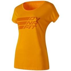 Υφασμάτινα Γυναίκα T-shirt με κοντά μανίκια Dynafit Compound Dri-Rel Co W S/s Tee 70685-4630 orange