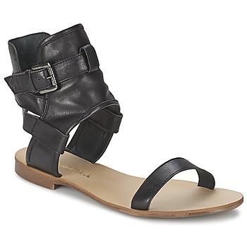 Παπούτσια Γυναίκα Σανδάλια / Πέδιλα Casual Attitude PANTOLA Black