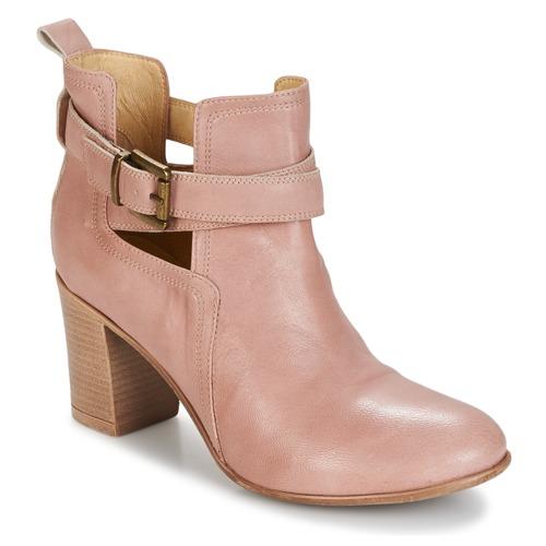 Παπούτσια Γυναίκα Μποτίνια Casual Attitude SEROLA ροζ