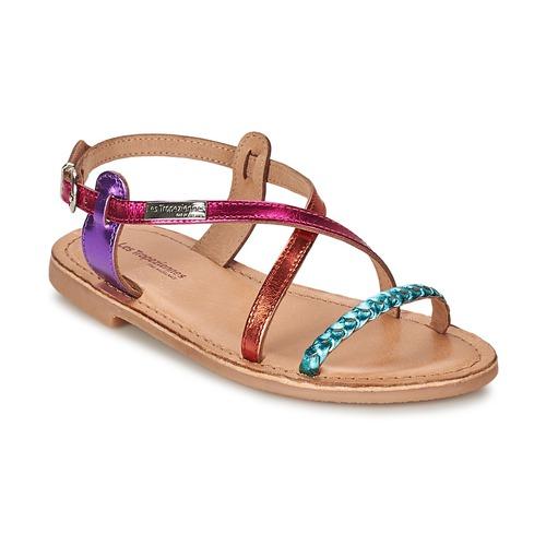 Παπούτσια Κορίτσι Σανδάλια / Πέδιλα Les Tropéziennes par M Belarbi BALADIN Multicolore