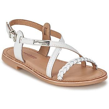 Παπούτσια Κορίτσι Σανδάλια / Πέδιλα Les Tropéziennes par M Belarbi BALADIN άσπρο