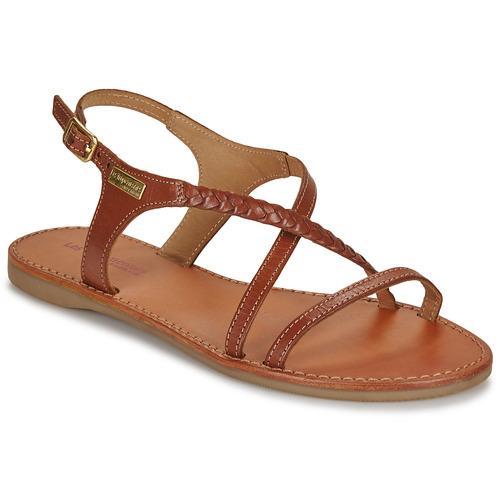 Παπούτσια Γυναίκα Σανδάλια / Πέδιλα Les Tropéziennes par M Belarbi HANANO Tan