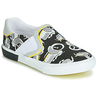 Παπούτσια Αγόρι Slip on Catimini CAMAZO Άσπρο / Black