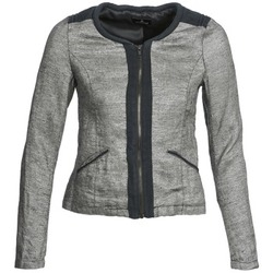 Υφασμάτινα Γυναίκα Σακάκι / Blazers One Step VALSE Grey / MARINE