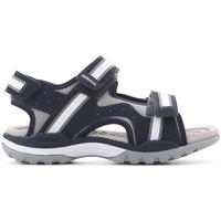 Παπούτσια Παιδί Σανδάλια / Πέδιλα Geox J Borealis J820RB 01050 C0661 navy , grey, white