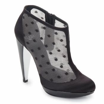 Παπούτσια Γυναίκα Χαμηλές Μπότες Azzaro INTERLUDE Black