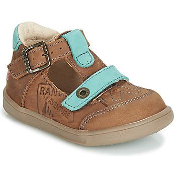 Παπούτσια Αγόρι Σανδάλια / Πέδιλα GBB AREZO Brown / Μπλέ