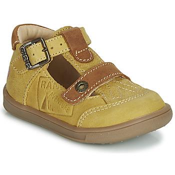 Παπούτσια Αγόρι Σανδάλια / Πέδιλα GBB AREZO Moutarde