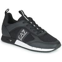 Παπούτσια Άνδρας Χαμηλά Sneakers Emporio Armani EA7 LACES U Black