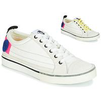 Παπούτσια Γυναίκα Χαμηλά Sneakers Diesel D-VELOWS LOW PATCH W Άσπρο
