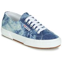 Παπούτσια Χαμηλά Sneakers Superga 2750 TIE DYE DENIM Μπλέ