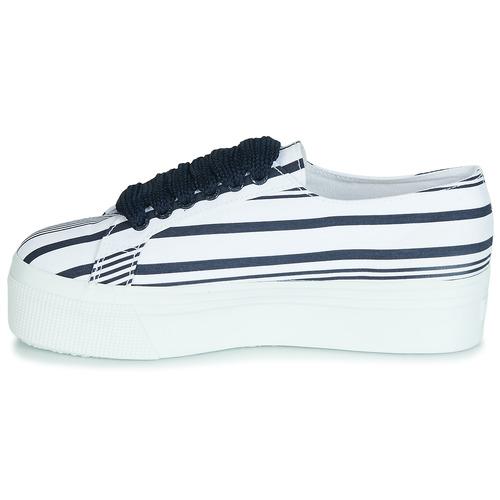 2790 COT MULTI STRIPE W  Superga  χαμηλά sneakers  woman  άσπρο.