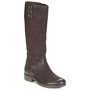 Παπούτσια Γυναίκα Μπότες για την πόλη Dream in Green CHAHINE Brown