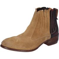 Παπούτσια Γυναίκα Χαμηλές Μπότες Moma Μπότες αστραγάλου BT18 Μπεζ
