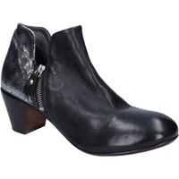 Παπούτσια Γυναίκα Μποτίνια Moma Μπότες αστραγάλου BT38 Μαύρος