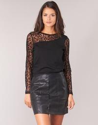 Υφασμάτινα Γυναίκα Μπλούζες Moony Mood JOULETTE Black