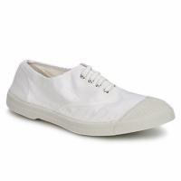 Παπούτσια Γυναίκα Χαμηλά Sneakers Bensimon TENNIS LACET Άσπρο