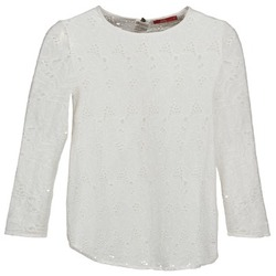 Υφασμάτινα Γυναίκα Μπλουζάκια με μακριά μανίκια Esprit VASTAN Άσπρο