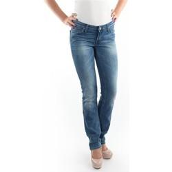 Υφασμάτινα Γυναίκα Skinny Τζιν  Lee Marlin Slim Straight L337OBDJ blue