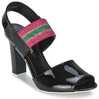 Παπούτσια Γυναίκα Σανδάλια / Πέδιλα Sonia Rykiel 683902 Black / Ροζ