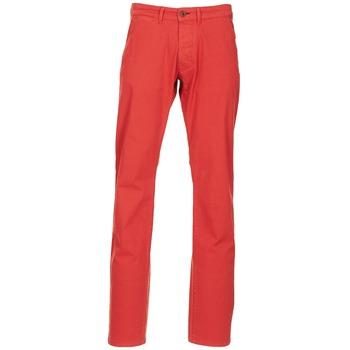 Υφασμάτινα Άνδρας Παντελόνια Chino/Carrot Jack & Jones BOLTON DEAN ORIGINALS Red