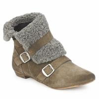 Παπούτσια Γυναίκα Μπότες Bronx CREPOU Brown / Grey