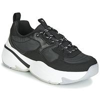 Παπούτσια Γυναίκα Χαμηλά Sneakers Victoria AIRE NYLON/SERRAJE PU Black