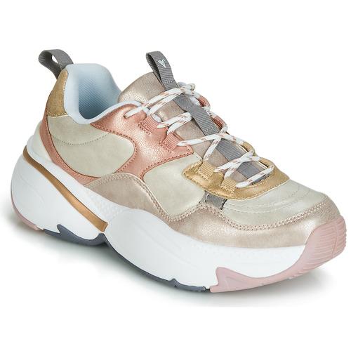 Παπούτσια Γυναίκα Χαμηλά Sneakers Victoria AIRE METALICO NACAR Beige