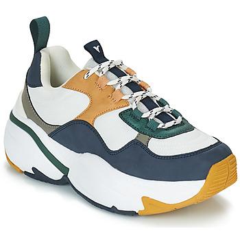 Παπούτσια Γυναίκα Χαμηλά Sneakers Victoria SNEAKER MALLA/MULTIMATERIAL Άσπρο / Marine