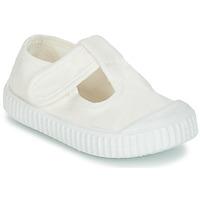 Παπούτσια Παιδί Μπαλαρίνες Victoria SANDALIA LONA TINTADA Άσπρο