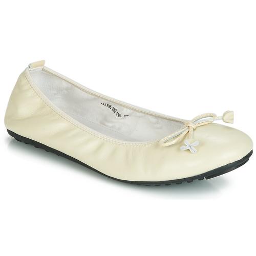 Παπούτσια Γυναίκα Μπαλαρίνες Mac Douglas ELIANE Ecru