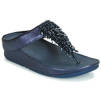 Παπούτσια Γυναίκα Σαγιονάρες FitFlop RUMBA TOE THONG SANDALS Μπλέ