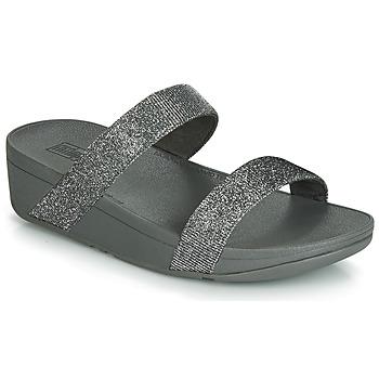 Παπούτσια Γυναίκα Τσόκαρα FitFlop LOTTIE GLITZY SLIDE Silver