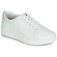 Παπούτσια Γυναίκα Χαμηλά Sneakers FitFlop RALLY SNEAKER Άσπρο