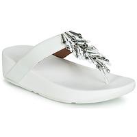 Παπούτσια Γυναίκα Σαγιονάρες FitFlop JIVE TREASURE Άσπρο