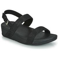 Παπούτσια Γυναίκα Τσόκαρα FitFlop LOTTIE GLITZY BACKSTRAP SANDAL Black